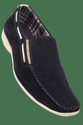 IWALKMens Leather Slipon Loafer