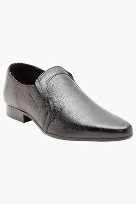 Mens Leather Slip On Formal Loafers