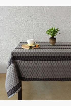 The 70C Chevron 100% Cotton Table Cover - Black - 202274717