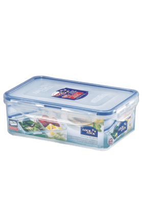 LOCK & LOCK Classics Rectangular Food Container With Divider - 1 Litre
