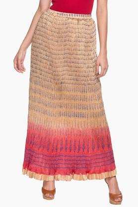 SOCH Womens Printed Long Skirt