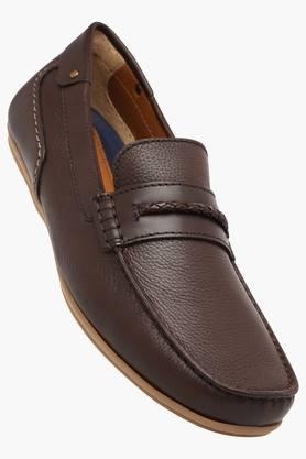Ruosh Formal Shirts (Men's) - Mens Leather Slipon Formal Shoes