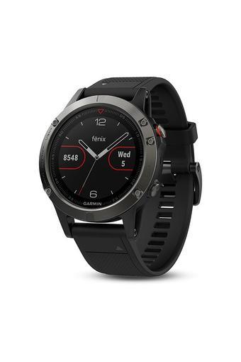 Unisex Fenix 5 Sapphire Silicone Smart Watch