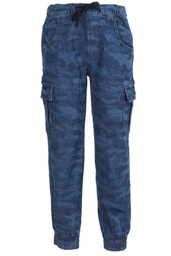 UNITED COLORS OF BENETTON -  Mid Blue Bottomwear - Main
