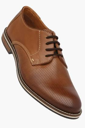 VENTURINI Mens Leather Lace Up Formal Derbys  ... - 202321020