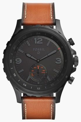 Mens Hybrid Analogue Leather Smart Watch - FTW1114