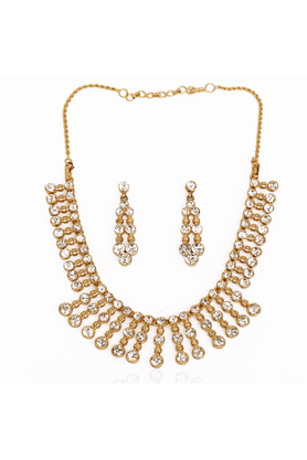 TOUCHSTONE Necklace Set - 8616227