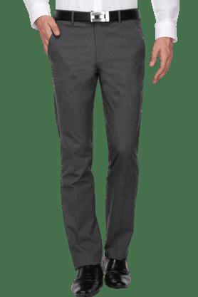 LOUIS PHILIPPEMens Slim Fit Solid Formal Trouser - 200579702