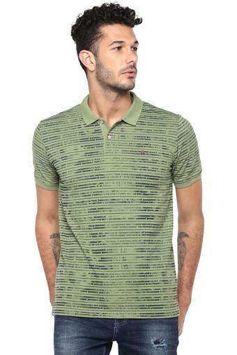 LOUIS PHILIPPE JEANS -  Green T-shirts - Main