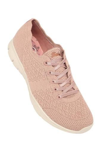 SKECHERS -  Pink Casuals Shoes - Main