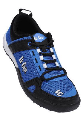 LEE COOPER Mens Blue Lace Up Sports Shoe