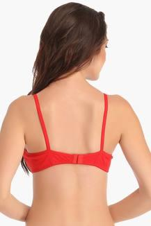 001baf9401 Cotton Rich Non-Padded Wirefree T-Shirt Bra. MRP Rs 499. First Citizens  earn points on every purchase. (Link or enroll here). Select Colour. Red.  Red