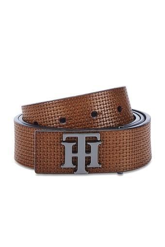 TOMMY HILFIGER Mens Leather Single Side Casual Belt
