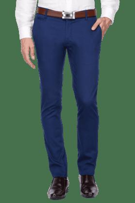 BLACKBERRYSMens Slim Fit Solid Chinos - 200889363