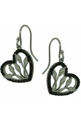 REAL EFFECT Sterling Silver Earrings