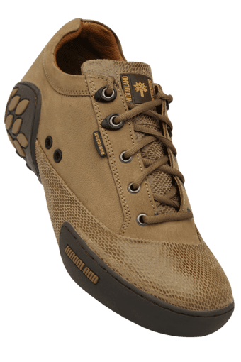 Mens Nubuck Leather Lace Up Casual Shoe