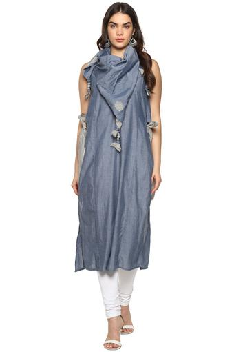 BACK TO EARTH -  Blue Kurtas - Main