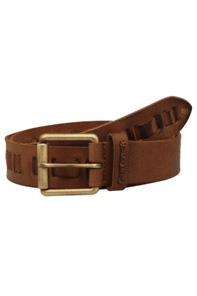 FASTRACKMens Large Leather Casual Belt