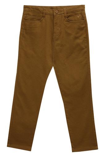 ALLEN SOLLY -  BrownBottomwear - Main