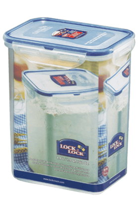 LOCK & LOCK Classics Tall Rectangular Food Container - 1.8 Litres