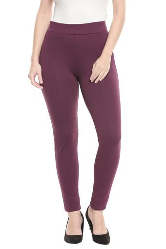 FRATINI WOMAN -  Burgundy Jeans & Leggings - Main