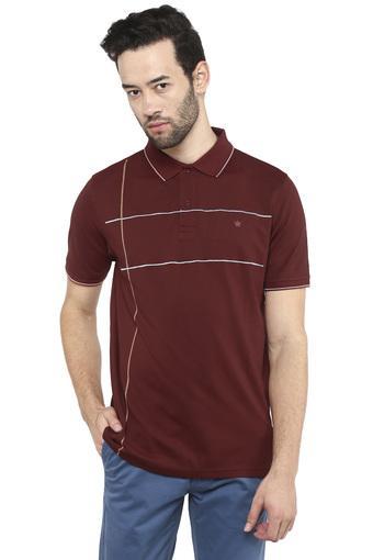 LOUIS PHILIPPE -  MaroonT-shirts - Main