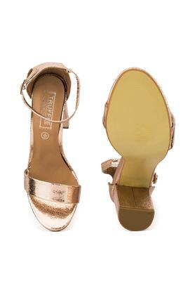 TRUFFLE COLLECTION - Rose GoldHeels - 3