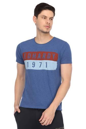 ED HARDY -  BlueT-shirts - Main