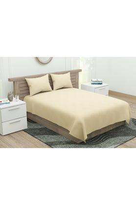 Self Printed Double Bed Sheet with Pillow Cover