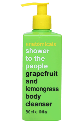 ANATOMICALS Grapefruit And Lemongrass Body Cleanser 300ml
