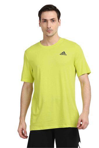 ADIDAS -  YellowT-Shirts - Main