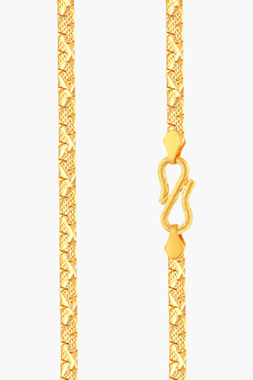 MALABAR GOLD AND DIAMONDS Mens 22 KT Gold Chain - 201391326