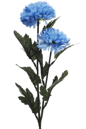 IVYBlue Ball Flower - 62 Cm