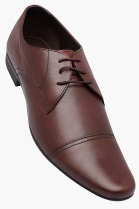 FRANCO LEONE Mens Leather Lace Up Derbys - 202658078_8927