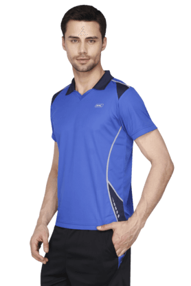 Mens Short Sleeves Solid Polo T-Shirt