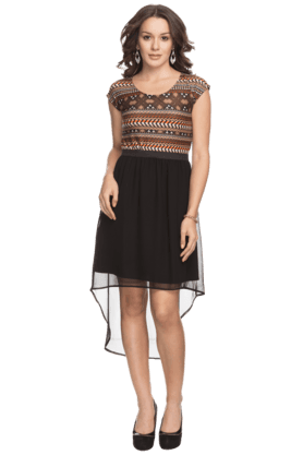 Womens High Low Dress