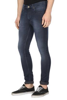 Mens 5 Pocket Mild Wash Jeans (Albert Fit)