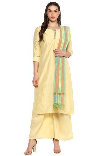 STOP -  YellowSalwar & Churidar Suits - Main