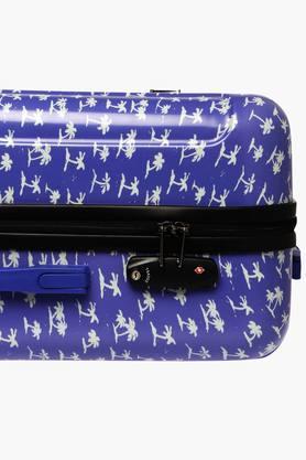 Unisex Zipper Closure Hard Trolley