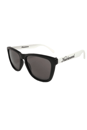 KNOCKAROUND Classic Premium Throwback Unisex Sunglasses White/Black-PRTH1008 (Use Code FB20 To Get 20% Off On Purchase Of Rs.1800)