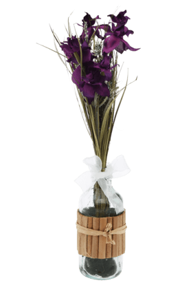 IVY Larkspur In Glass Bottle