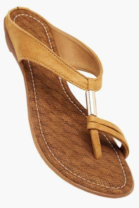 RAW HIDE Womens Daily Wear Slipon Flat Sandal - 201412862