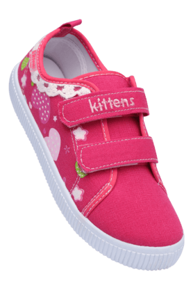 KITTENS Girls Casual Velcro Closure Sandal
