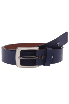 BULCHEE Mens Blue Casual Leather Belt
