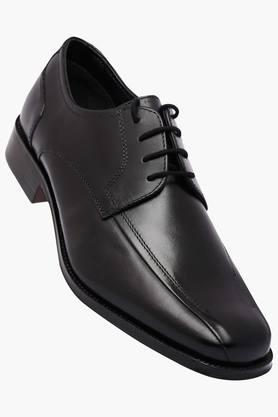 VENTURINI Mens Leather Lace Up Derbys