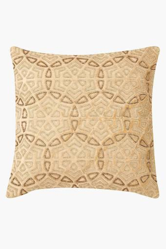 Square Circle of Life Embellished Cushion Cover