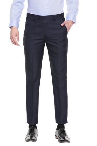 B554 -  Blue Formal Trousers - Main