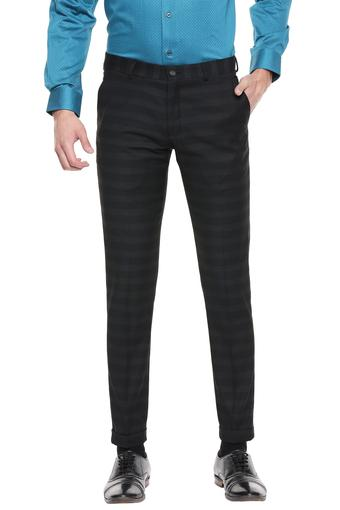 BLACKBERRYS -  CharcoalFormal Trousers - Main