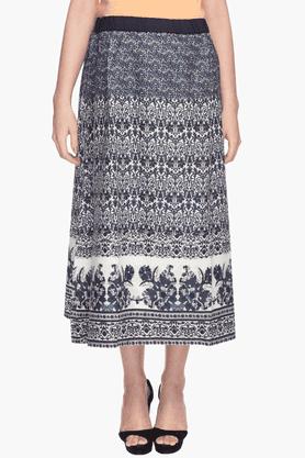 NINE MATERNITYWomens Straight Printed Skirt