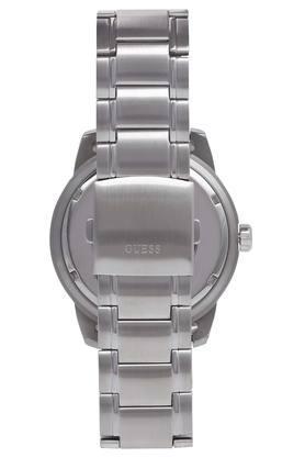 Mens Navy Blue Dial Metallic Multi Function Watch - W1249G2